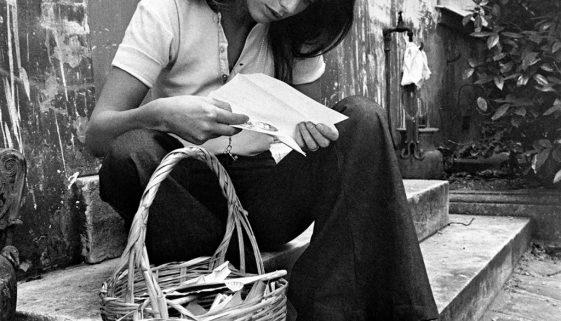 Jane Birkin in pletena košara