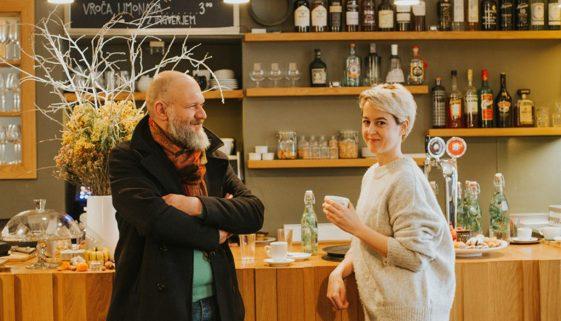 Z Nikolo in Evo v Tam Tam – prostor umetnosti in odlične kave