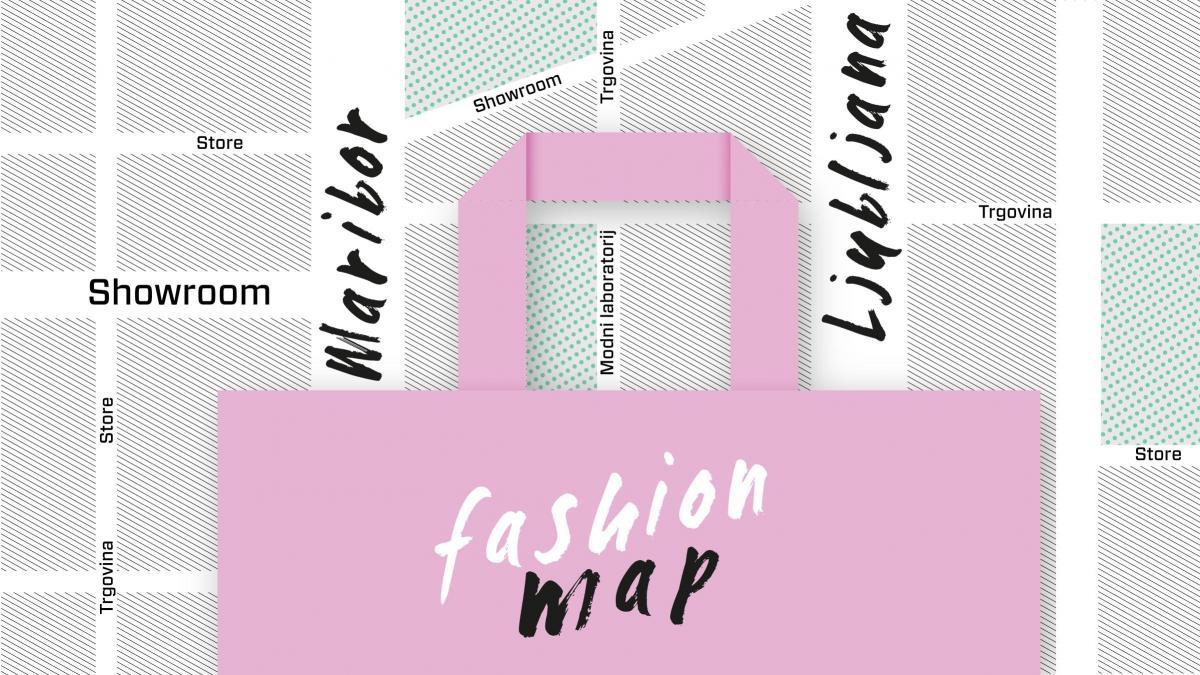 ZEMLJEVID TRGOVIN IN ATELJEJEV slovenskih modnih oblikovalcev, ki ustvarjajo ročno izdelane, s tradicijo in novimi tehnologijami navdahnjene ter okolju prijazne modne izdelke.