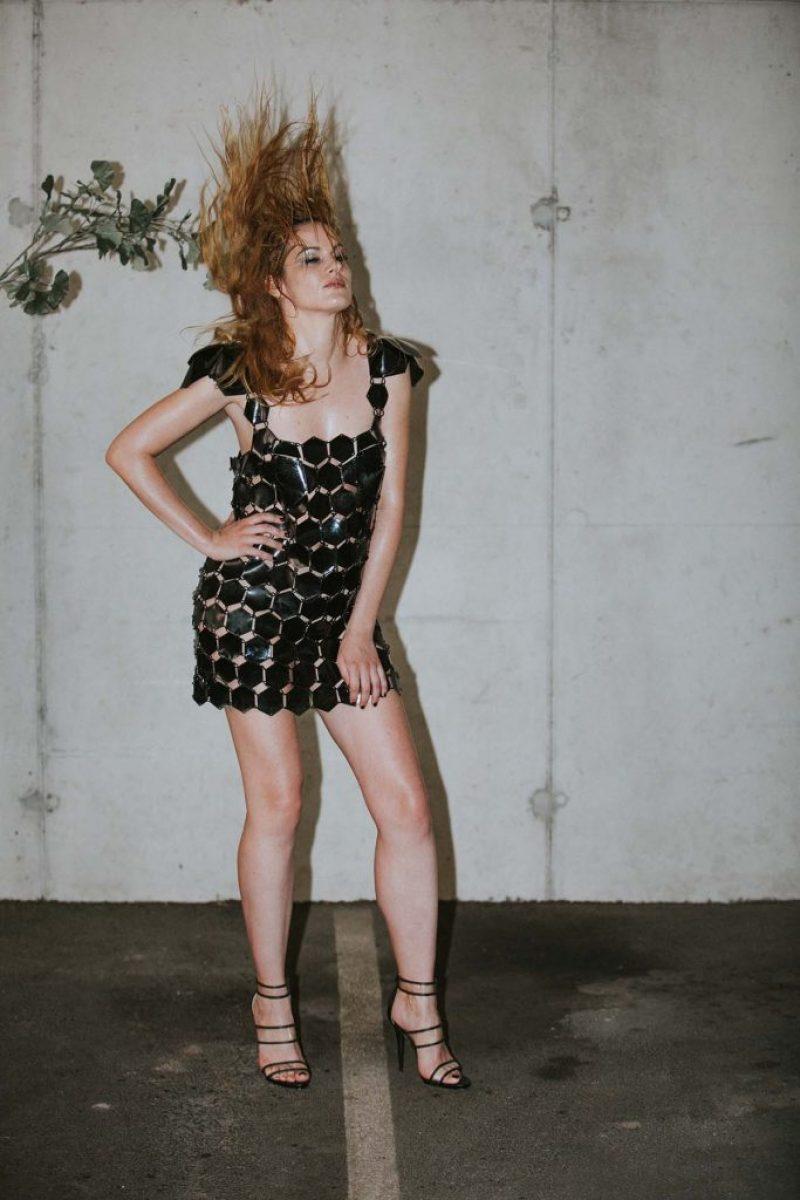 NEON RABBIT - LITTLE BLACK DRESS small 7